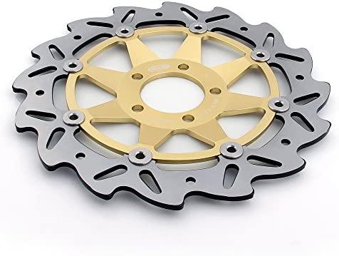 areyourshop Rotor del freno delantero de disco para Kawasaki ...