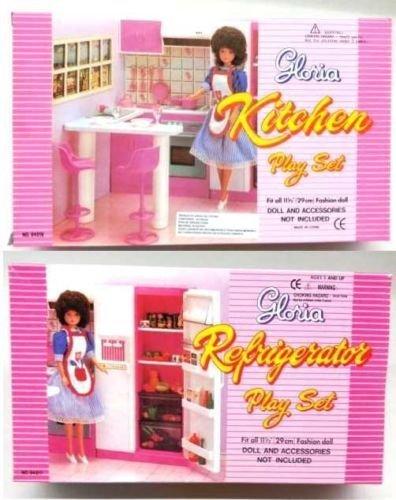 Amazoncom New Barbie Gloria Doll House Furniture Set of 2