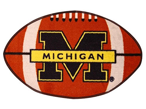 - MICHIGAN WOLVERINES NCAA FOOTBALL FLOOR MAT (22X35) SIZE ONE
