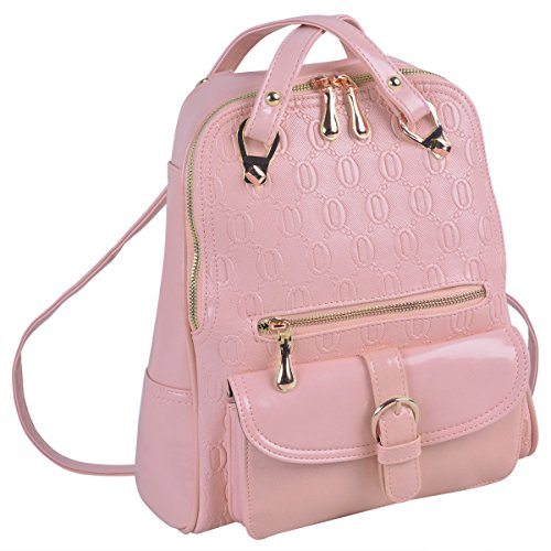 Coofit Girls Backpack College School Bag Leather Purses