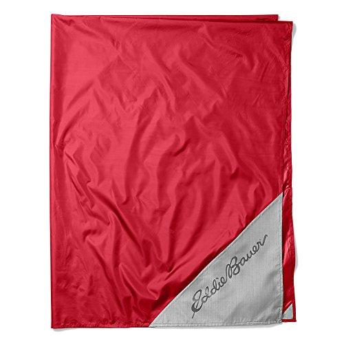 Eddie Bauer Unisex-Adult Stowaway Ground Cover, Barn Red Regular ONESZE by Eddie Bauer