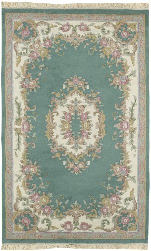 Surya Avalon Teal 2 by 3 Rug, Teal Green