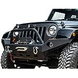 Havoc Offroad Full Width Bumper (fits) 2007-2018 Jeep Wrangler JK Front Bumpers (Claw Hammer) Full Width