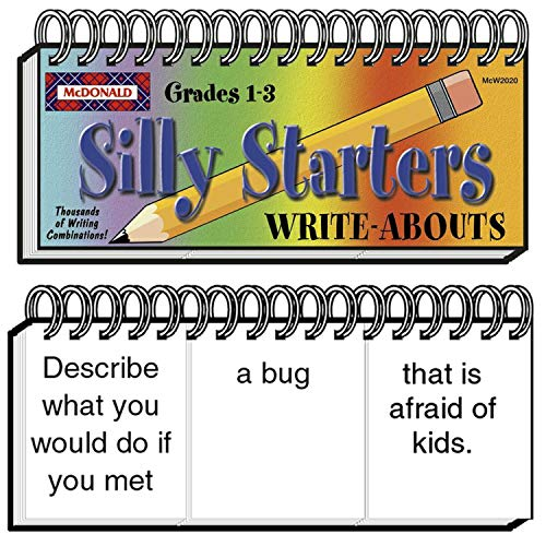 - McDonald Publishing MC-W2020 Silly Starters Write-Abouts Booklet, Grade: 1 to 3, 0.8