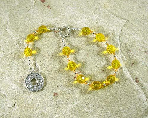 Sunna Pocket Prayer Beads: Norse Goddess of the Sun
