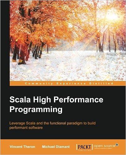 Scala High Performance Programming ISBN-13 9781786466044