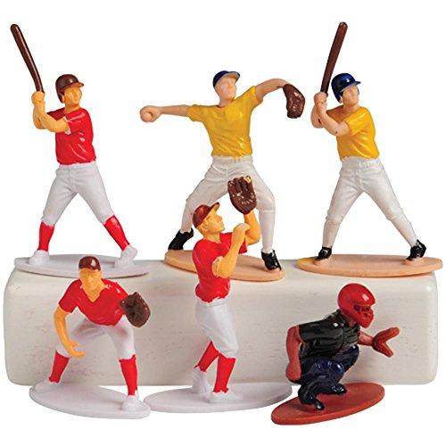 US Toy Baseball Toy Figures (Set of 12) Baseball Player Figurine