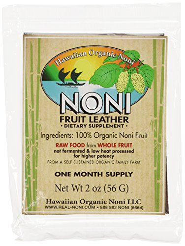 Noni Fruit Leather by Hawaiian Health 2oz