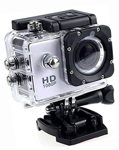 Lizzie Action Camera 1080P 12MP Sports Camera Full HD 2.0 Inch Action Cam