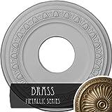Ekena Millwork CM12JABRS Jackson Ceiling Medallion, Brass