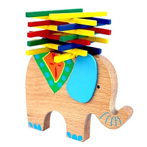 Elephant Stacking Toy (Little Star Elephant Pile-Up Stacking)