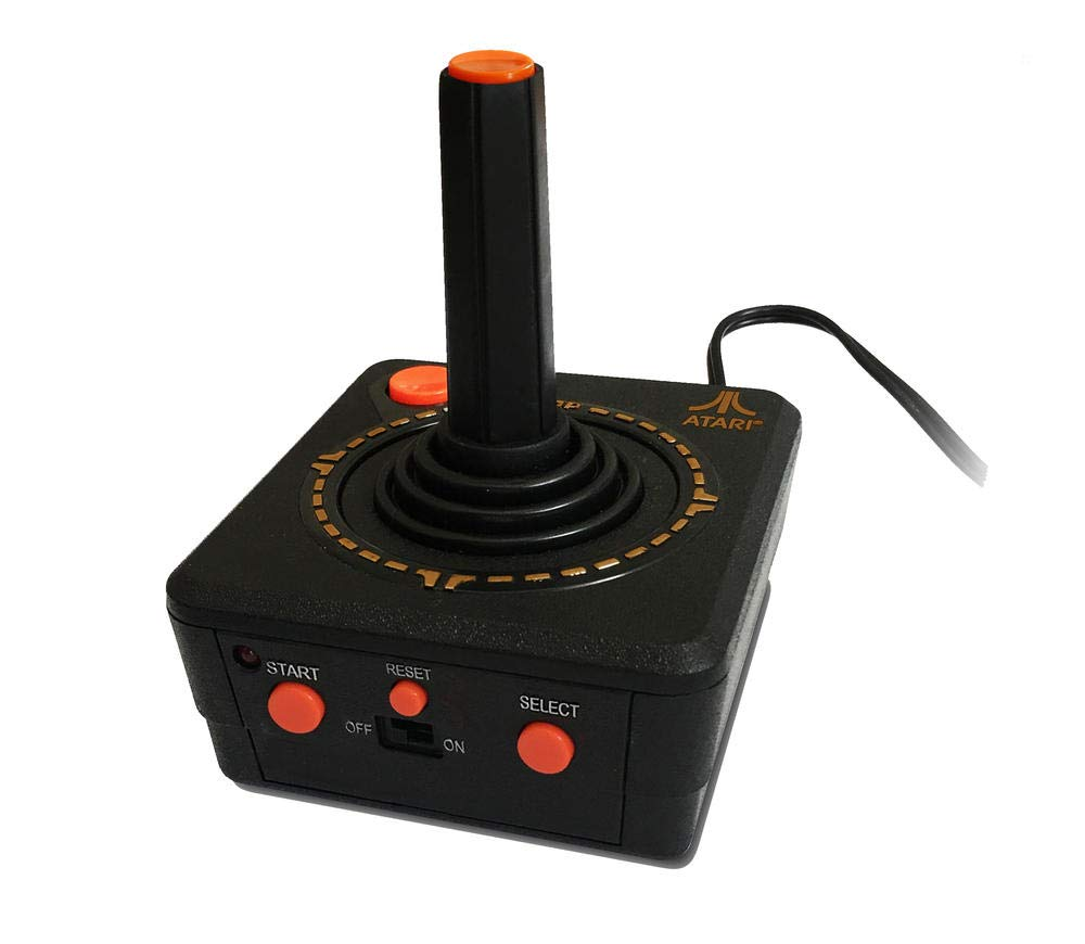 464a4d10d Atari Retro TV Plug and Play Joystick (Electronic Games): Amazon.co.uk: PC  & Video Games