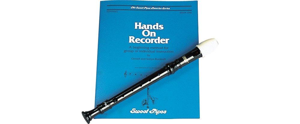 Rhythm Band Soprano Recorder Package RBA100H