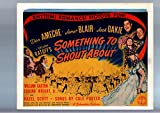 MOVIE POSTER: SOMETHING TO SHOUT ABOUT-1943-DON