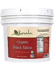 Kevala Organic Black Sesame Tahini 8Lbs Pail
