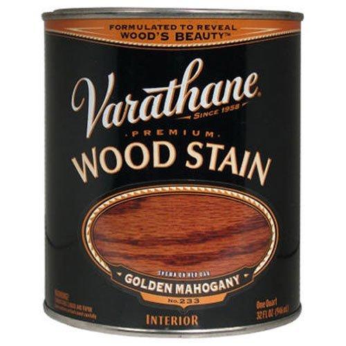 Premium Varathane Floor (Varathane 211718H Premium Wood Stain, Quart, Golden Mahogany)