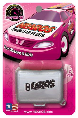 Hearos Racing Plugs Women Corded