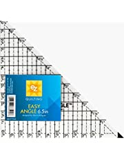 """EZ International Quilting Easy Angle Acrylic Template, 6.5"""""""