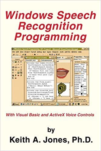 Buy Windows Speech Recognition Programming: With Visual