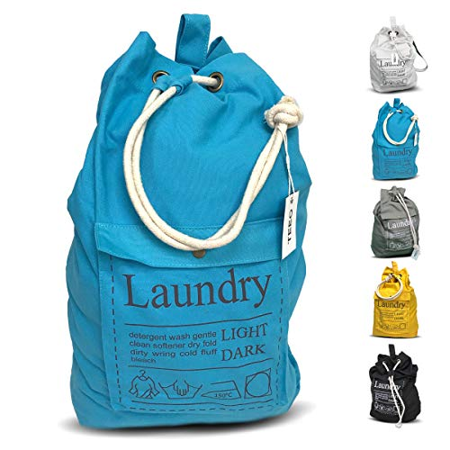 Best Laundry Bag For College Students - Laundry Bag Backpack Spacious 25