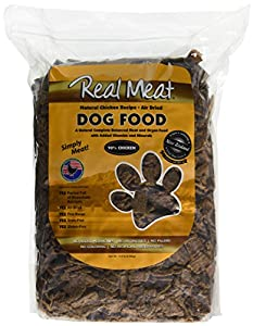 Real Meat - Air Dried Chicken Recipe with Added Vitamins and Minerals Dog Food – 2 Pounds
