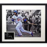 LA Dodgers Yasiel Puig 16x20 Photograph SGA Signature Series Framed