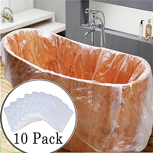 10 Pack Disposable Bathtub