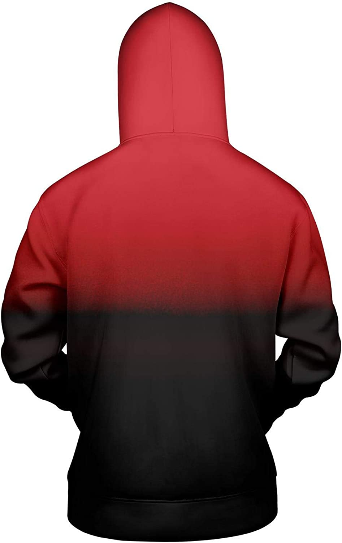 Just Hiker Full Print Hoodies Outdoor Space Cotton Sweatshirt Sweater Thickness Sportswear