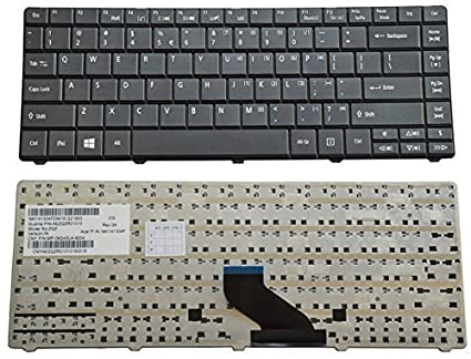 07b1919a37f Image Unavailable. Image not available for. Colour: Swiztek Laptop Keyboard  for Acer ...
