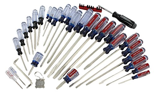 Craftsman 9-31798 Phillips Slotted Torx Mixed Screwdriver Set, 41 Piece ()