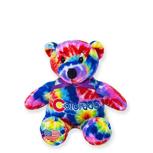 Symbolz Colorado Tie-Dye Bear by RGU