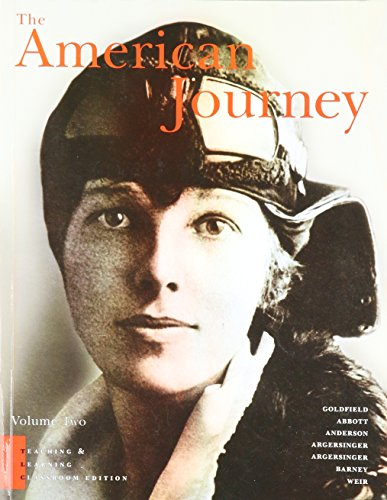 American Journey, Reprint Teaching and Learning Classroom Volume 2, The (3rd Edition)