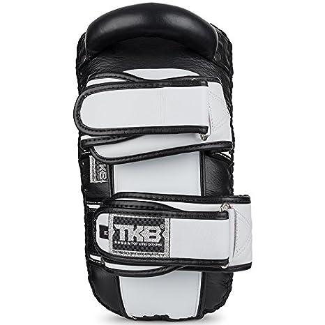 TOP KING Boxing Top King de Boxe Top King Super incurv/é Thai Pads Noir et Blanc