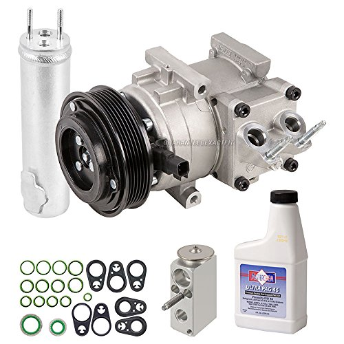 AC Compressor w/A/C Repair Kit For Ford Fiesta 2011 2012 2013 - BuyAutoParts 60-82848RK New
