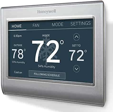 Honeywell RTH9585WF1004/W Wi-Fi Smart Color Programmable Thermostat, V. 2.0,