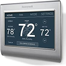 "Honeywell RTH9585WF1004/W Wi-Fi Smart Color Programmable Thermostat, V. 2.0,""C Wire Required"