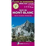 Mont-Blanc (Pays du) - Aravis - Chamonix - Courmayeur A1 (Hiking Map)