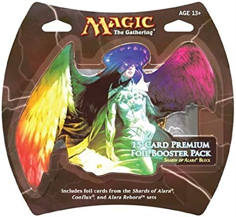 1 Pack of Magic the Gathering: MTG Fragmentos de Alara premium Foil Booster Pack (