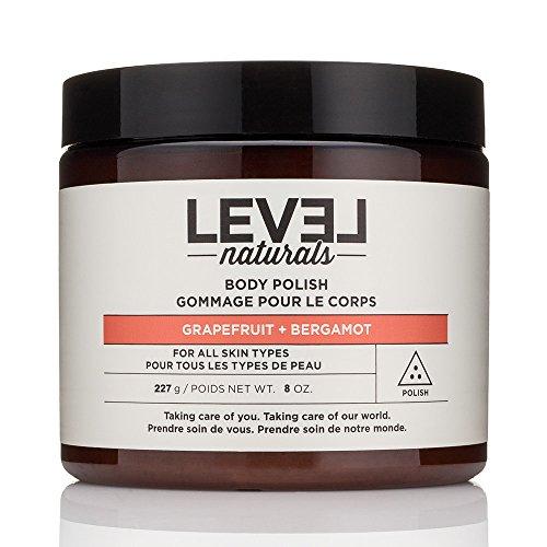 Level Naturals - Body Polish Grapefruit + Bergamot - 8 oz. (Level Naturals Body)