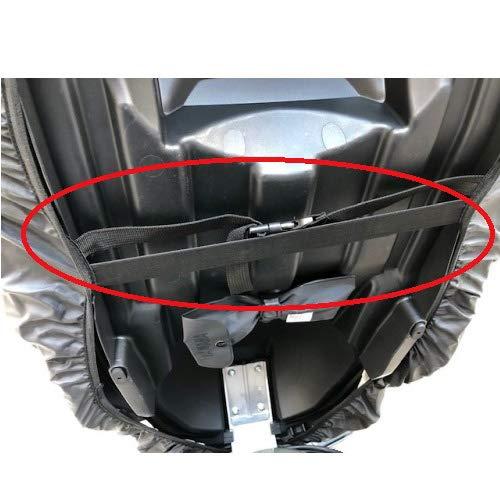 HONDA FORZA 300 ABS 2019-2019 TELO COPRISELLA FELPATO IMPERMEABILE TAGLIA XL 130X72CM UNIVERSALE DIEFFE PER SELLE MOTO SCOOTER NERO