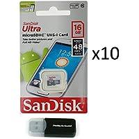 Sandisk Micro SDXC Ultra (10 Pack) MicroSD TF Flash...