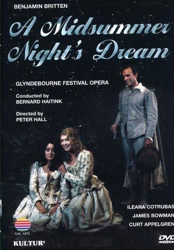 Britten - A Midsummer Night's Dream / Bowman, Cotrubas, Lott, Buchanan, Davies, Duesing, Haitink, Glyndebourne Opera