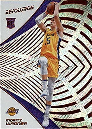 27c2f993114a 2018-19 Revolution Basketball  147 Moritz Wagner RC Los Angeles Lakers  Rookie Official NBA