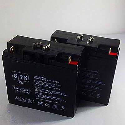 Replacement Battery Jump N Carry JNC1224 Jump Starter 12V 22AH Jump Starter Battery -( SPS Brand) - 2 Pack