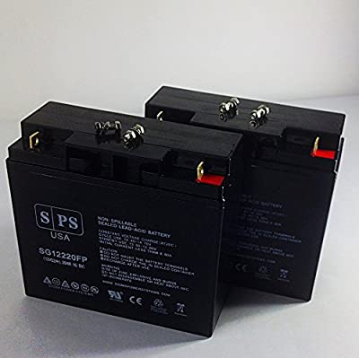 Replacement Battery Xantrex Technology XPower Powerpack 1500 Jump Starter 12V 22AH Battery -( SPS Brand) - 2 Pack