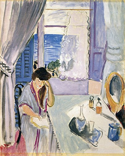 Henri Matisse - Woman Reading at a Dressing Table The Barnes Foundation 30