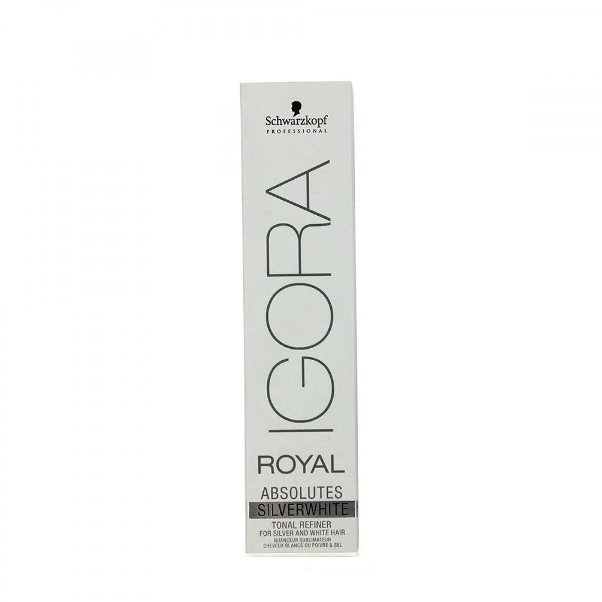 Schwarzkopf Igora Royal Absolutes Silver White Permanent Hair Dye