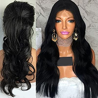 Wicca Human Hair Body Wave Lace front wigs Guless Brazilian Virgin Hair Body Wave Full Lace wig With Baby Hair Bleach Knots