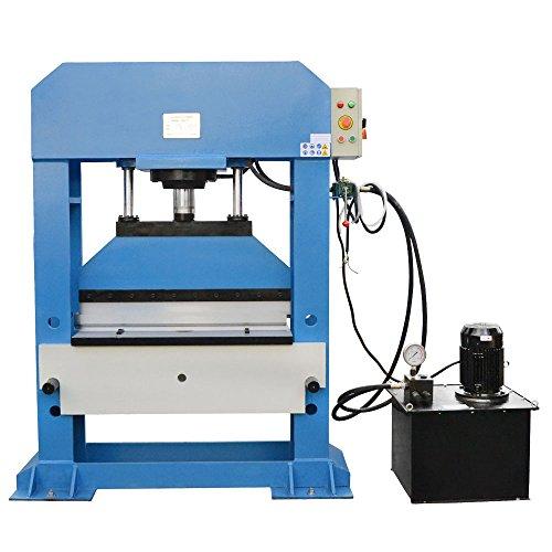 Electric 100 Ton Hydraulic Shop Press Brake Bender Bending 3 Phase 220 Volt (Ton 100 Shop Press)
