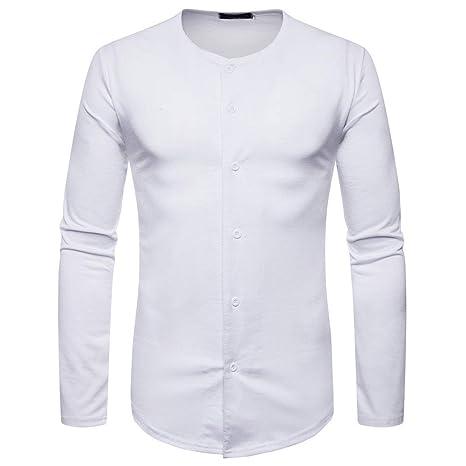 Rawdah_Camisetas De Hombre Manga Larga Camisetas Hombre Manga Larga Camisetas De Hombre Tallas Grandes Camisetas De Hombre De Camisetas Hombre Camisetas: ...